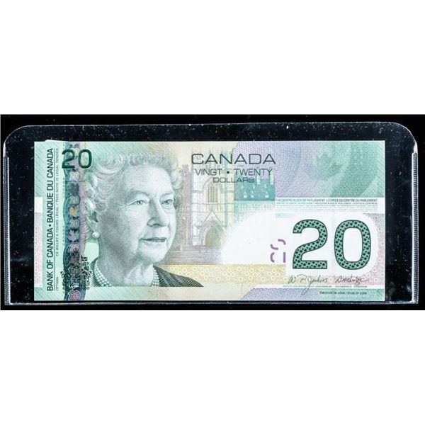 Bank of Canada 2004 20.00 (EZI) Choice UNC