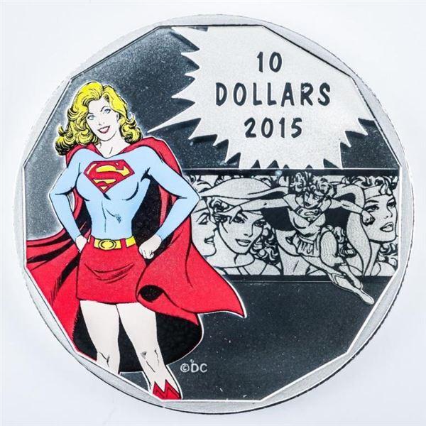 RCM DC Comics Strength .9999 Fine Silver  $10.00 Coin LE w/ COA (198)