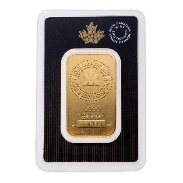 Prestige - Royal Canadian Mint .9999 Fine  Gold 1oz Bar (Delivery or Pick Up Within 7-14  Days).