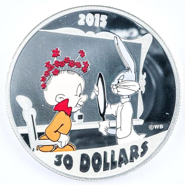 Looney Tunes $30.00 Fine Silver Coin - SOLD  OUT.