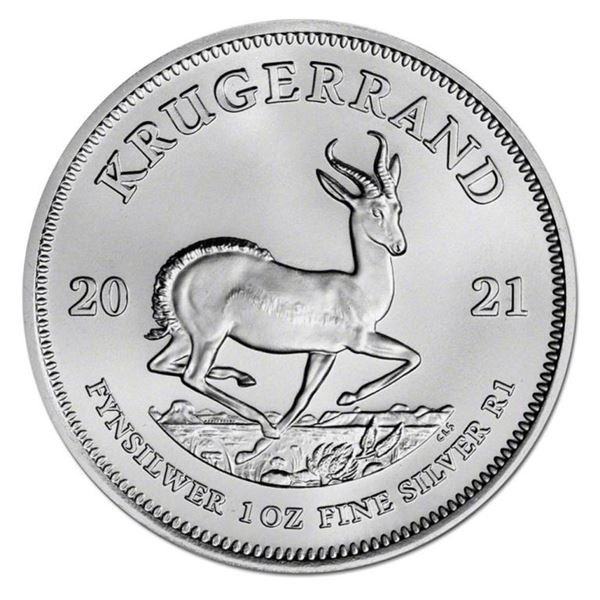 South Africa .999 Fine Silver 1oz Round.  Investment Bullion.