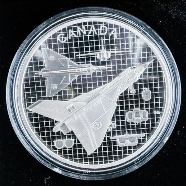 2021 $20 THE AVRO ARROW - PURE SILVER COIN