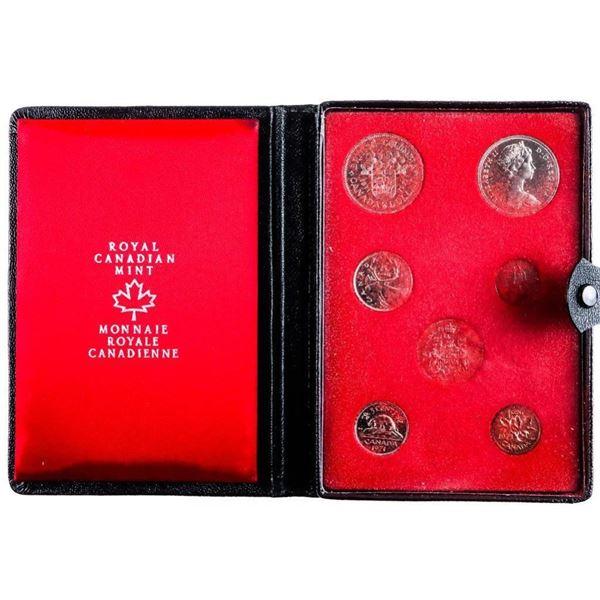 1979 RCM Prestige Specimen Coin Set - Black  Leather Case