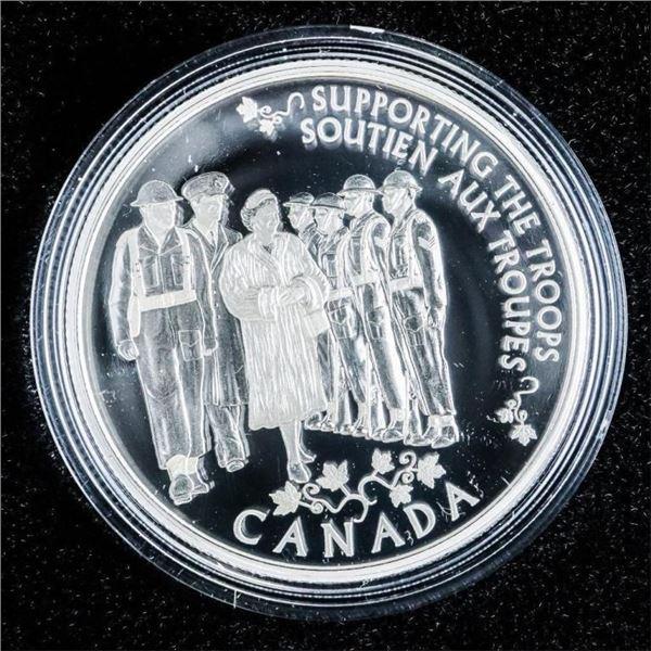 RCM 2014 Fine Silver $5 Coin - Princess to  Monarch