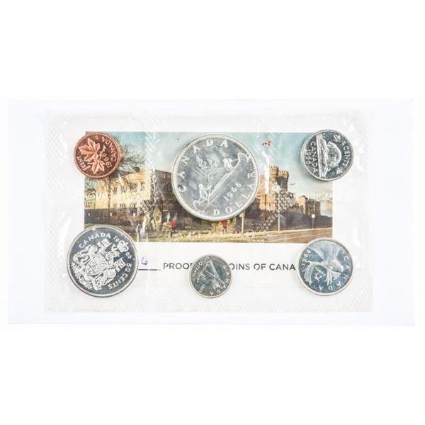 1966 Canada RCM PL Silver Coin Set