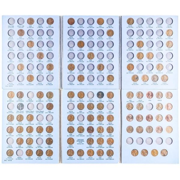 Lincoln Head Cent Collection - Vintage  Whitman Books
