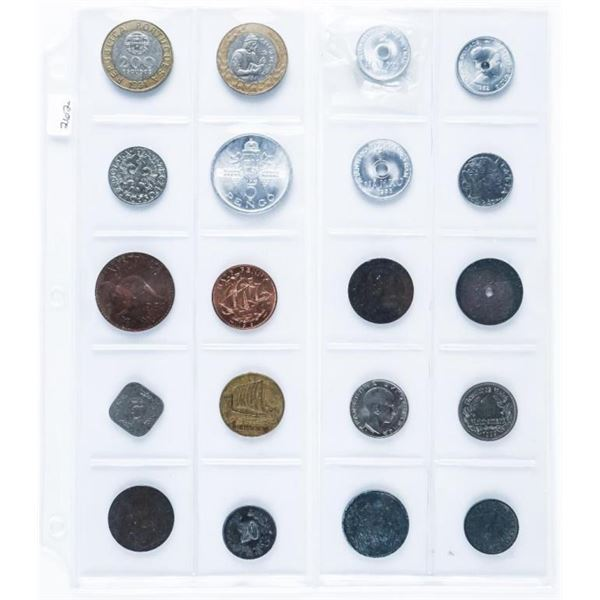 Lot (20) world Coins