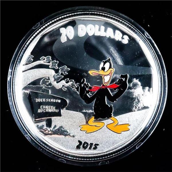 RCM Fine Silver $20 - Daffy