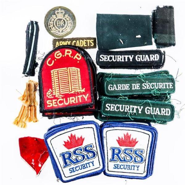Estate Bag of Mixed Crests & Badges