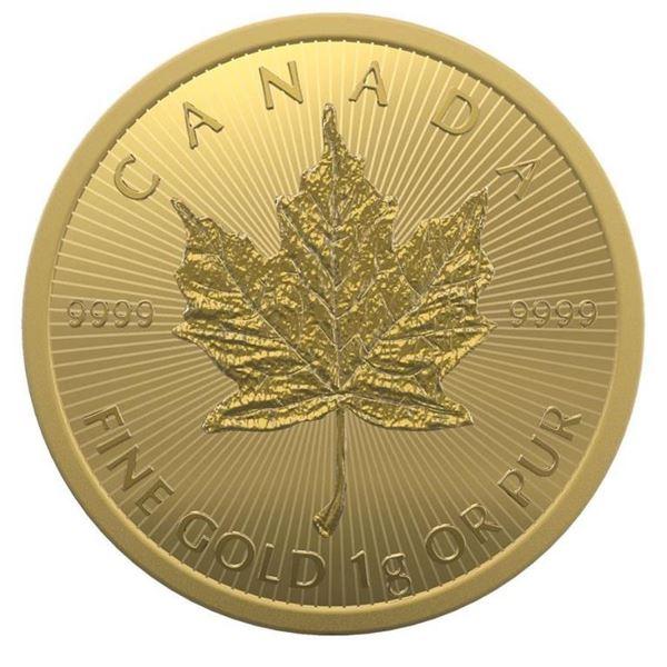 Prestige - Royal Canadian Mint .9999 Fine  Gold 50c Maple Leaf. Original Package. Highly  Sought Aft