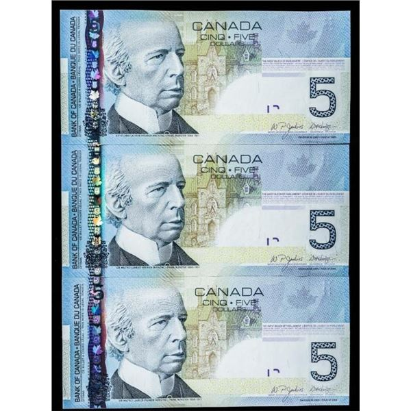 Lot 3 Bank of Canada x $5,2006 Hockey Scene  (AOS.AOS.AOF)
