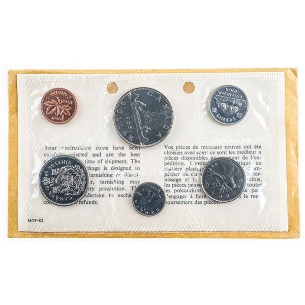 Group of 12 RCM Canada Specimen Coin Sets -  1968-69-70-71  488,489,484,482,481,479,479,477,464,463,