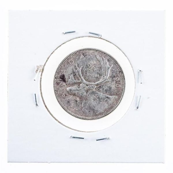 1962 Canada Silver 25 Cents (676)