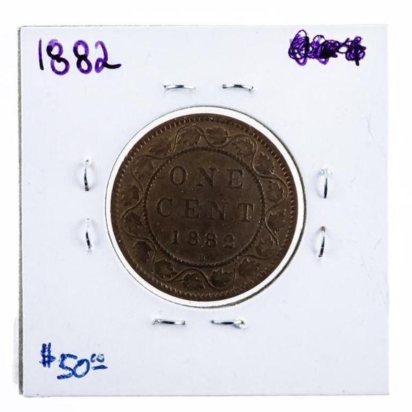 1882H Canada One Cent HIGH Grade (599)