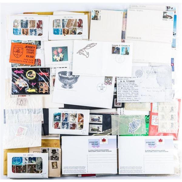 Estate Stamp Collection - Bag Lot