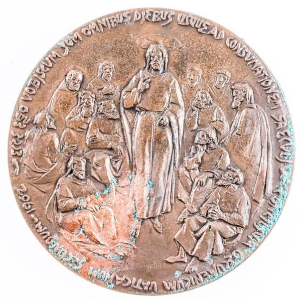 Papal Medallion 3D
