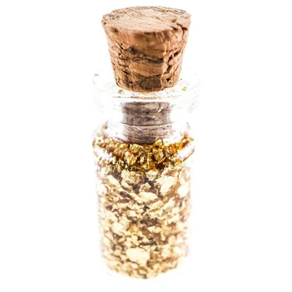 Vial of .9999 Pure Gold (.5ml)