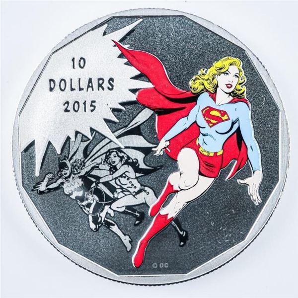 RCM Fine Silver $10 DC Comics - Originals  UNITY