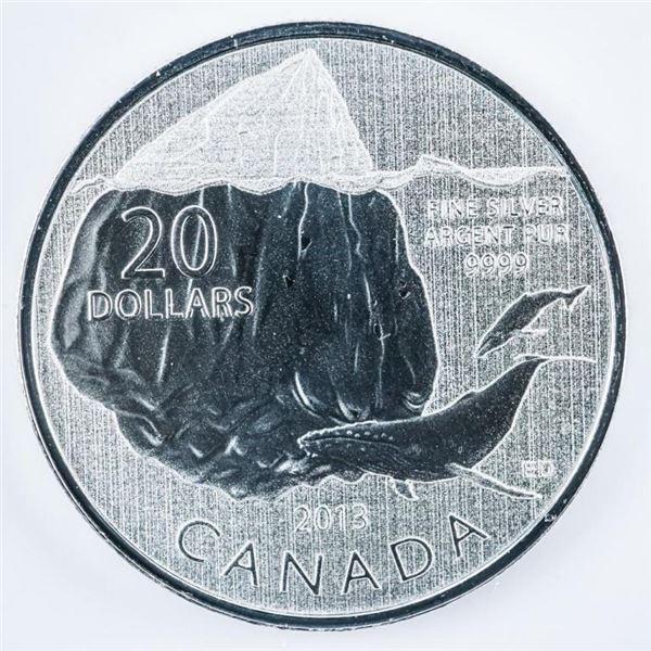 RCM 2013 Fine Silver $20 Coin Folio