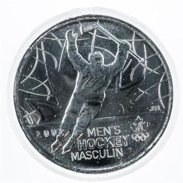 Tube Canada Men's Hockey 25 Cent Coins