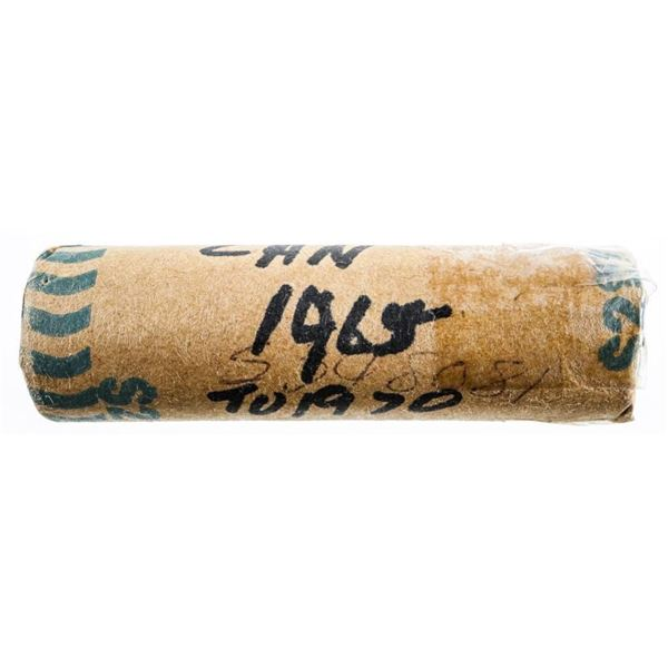 Roll of Canada Nickels 1965-1970