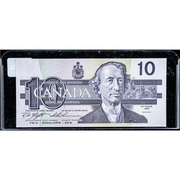 Bank of CANADA 1987 10.00 GEM UNC (BEF)