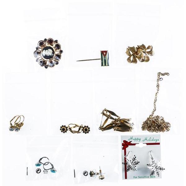 Estate/Bag Lot - Mixed Jewellery, Vintage -  Modern