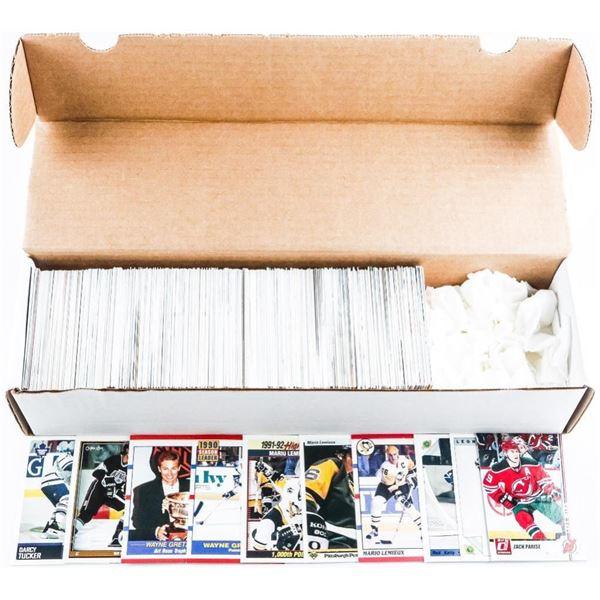 Box Lot 500 Mixed Hockey Cards