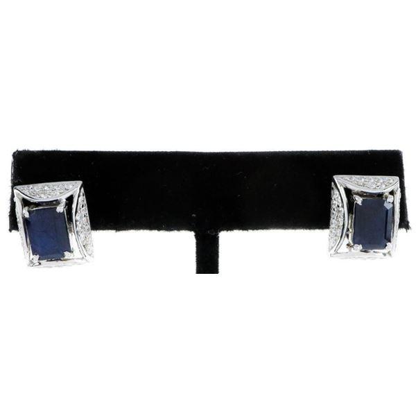 3.56cts Blue Sapphires & .64ct CZ's. TRRV  $940.00