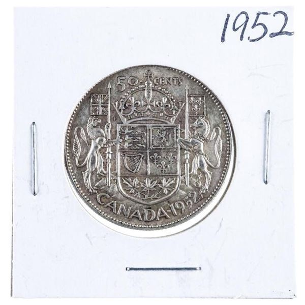 1952 Canada Silver 50 cents