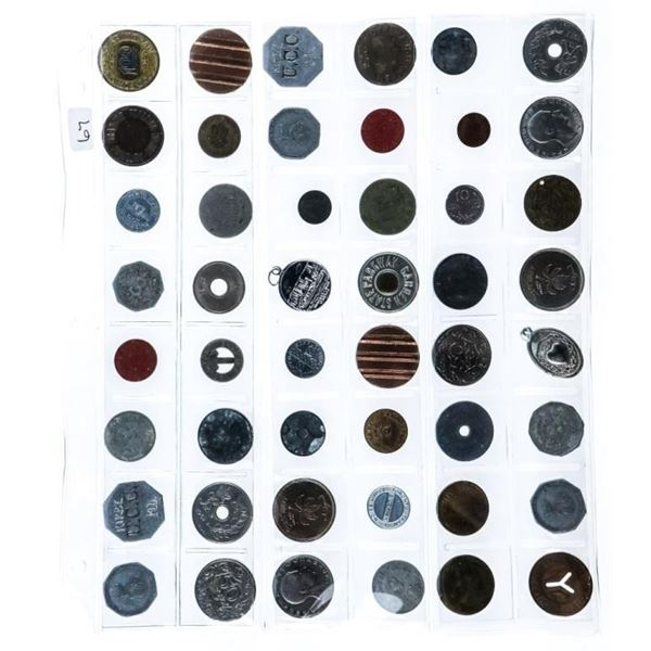 Group of 48 World Tokens