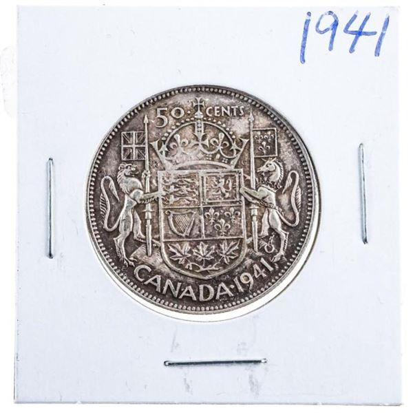 1941 Canada Silver 50 cents