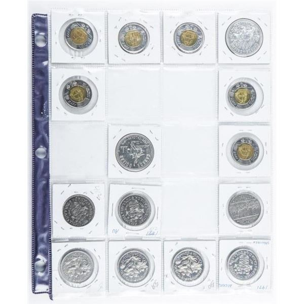 Group of (15) Canada Coins