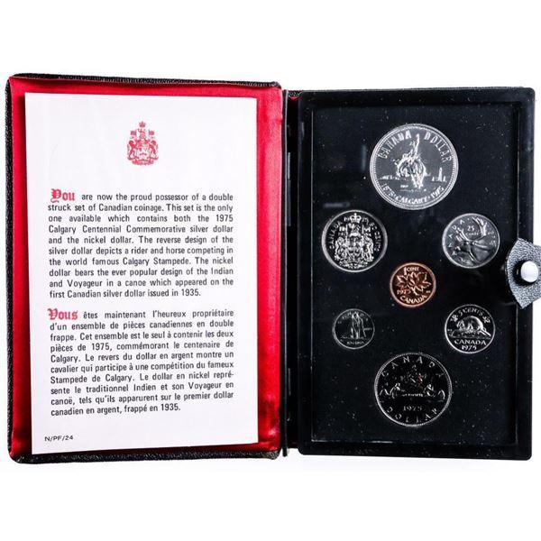 RCM 1975 Prestige/Specimen Mint Set - Black  Leather case