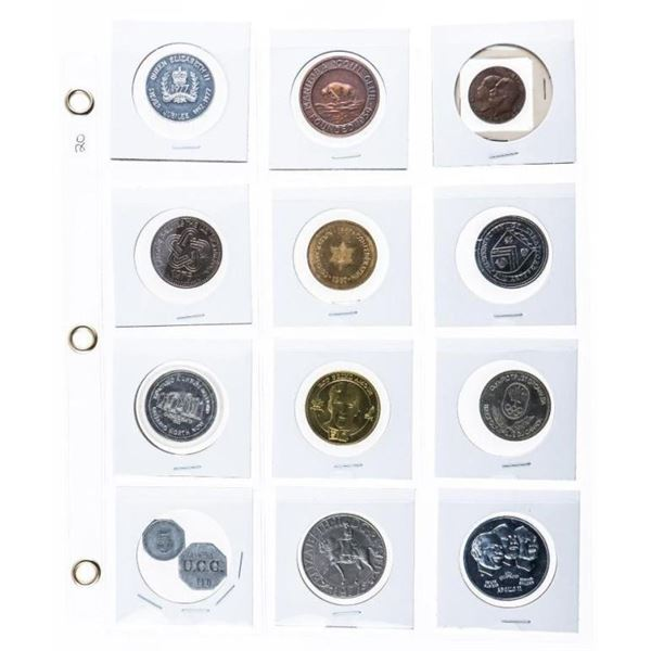 Grouping of 12 Canada Tokens / Medals