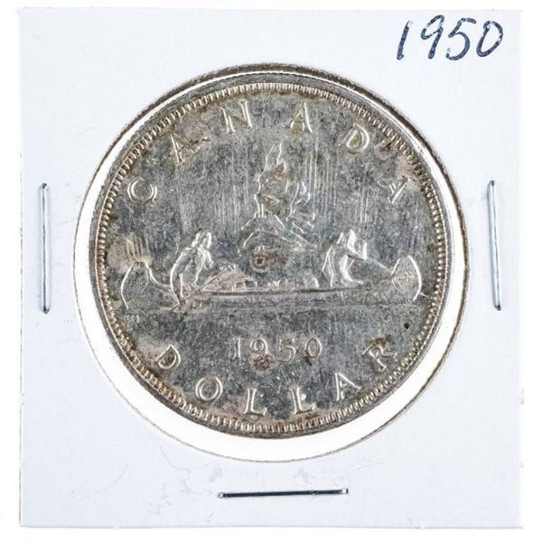 1950 Canada Silver Dollar