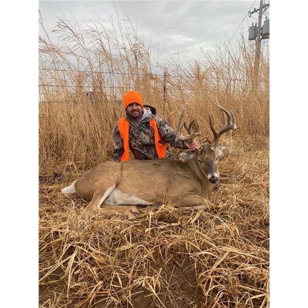 Oklahoma Rifle Whitetail Hunt