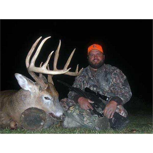 Nebraska Whitetail Muzzleloader Hunt for 2
