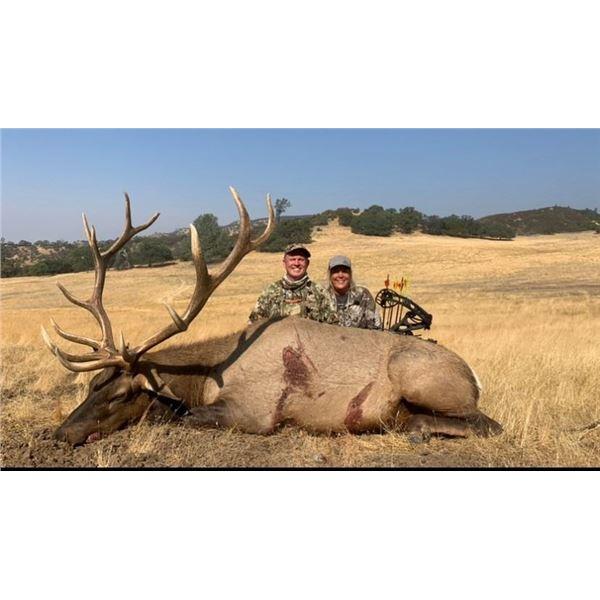 Calif Tule Elk Hunt