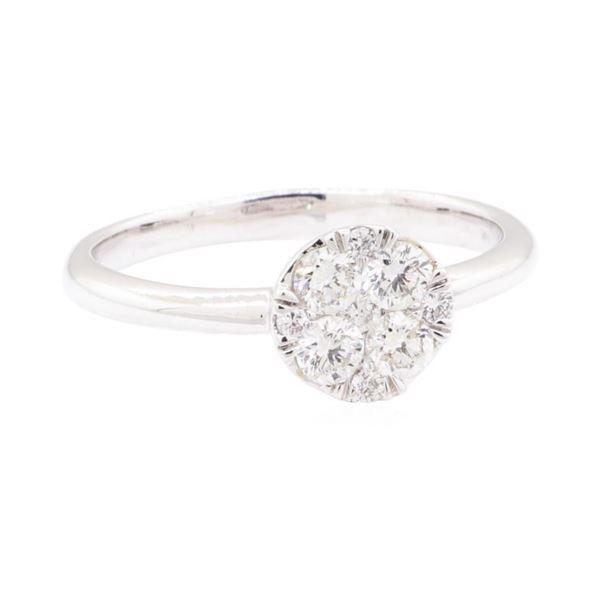0.50 ctw Diamond Ring - 14KT White Gold