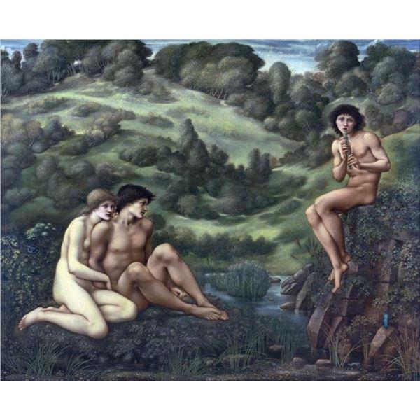 Edward Burne-Jones - The Garden of Pan