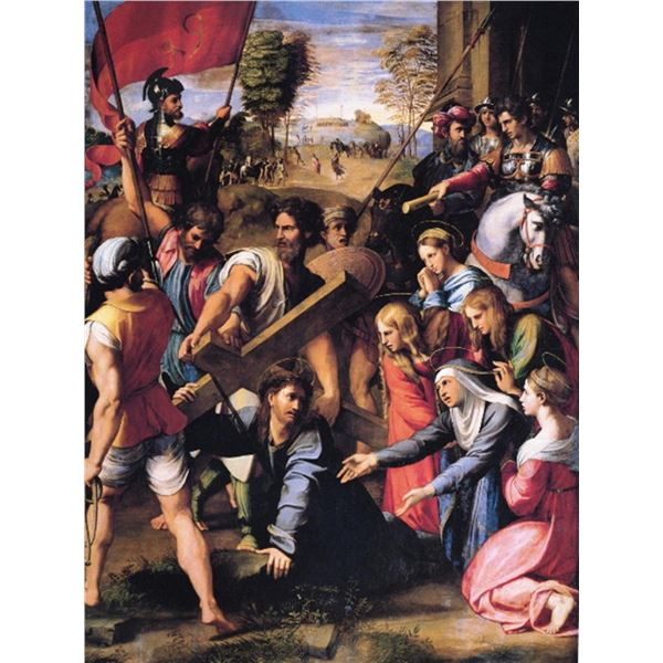 Raphael - Christ Falling on the Way to Calvary