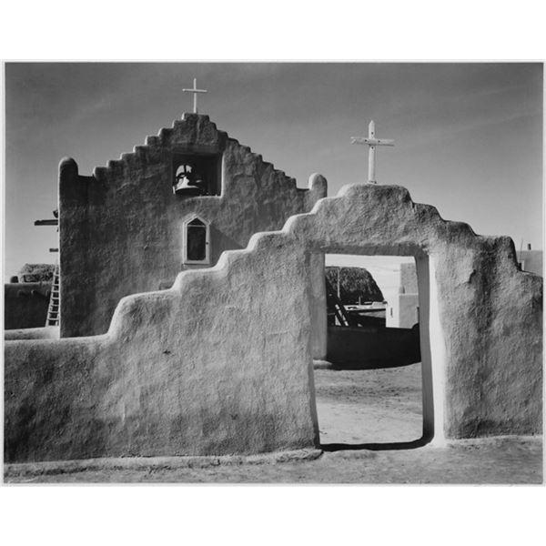 Adams - Church in Taos Pueblo New Mexico 2