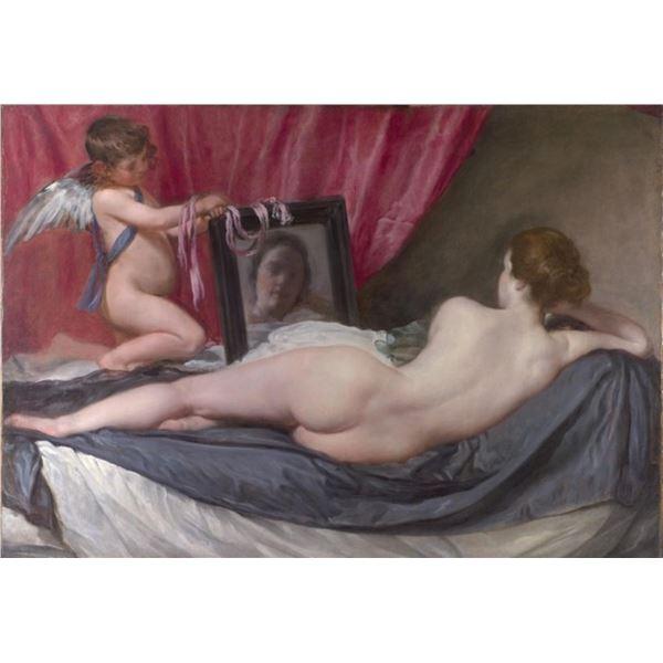 Velazquez - Venus at her Mirror