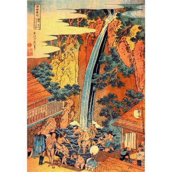 Hokusai - Waterfalls in all Provinces [2]