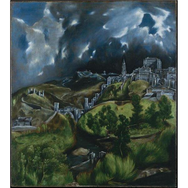 El Greco - View of Toledo