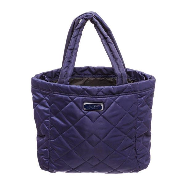 Marc Jacobs Purple Nylon Tote Bag