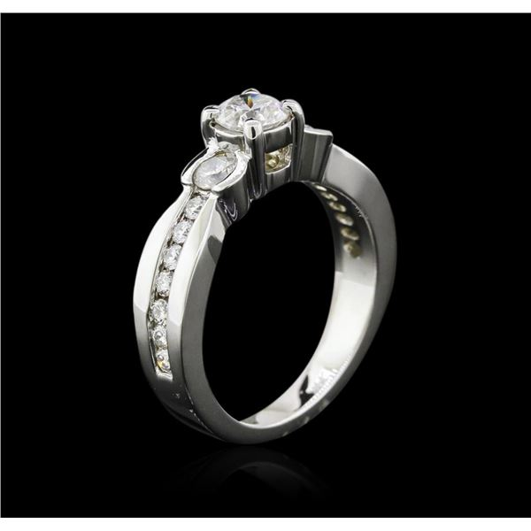 14KT White Gold 1.19 ctw Diamond Ring