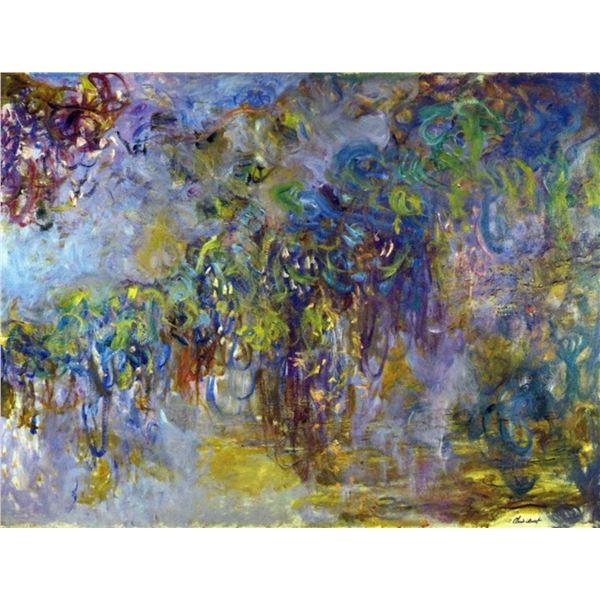 Claude Monet - Wisteria [2]