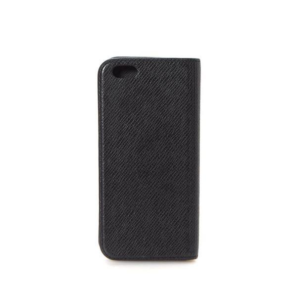 Louis Vuitton Black Taiga Smart Phone Case Wallets